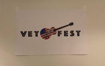 vetfest guitar flag banner