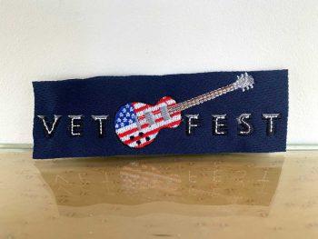Vet Fest Horizontal Patch Guitar